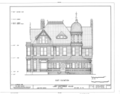 Long-Waterman House, 2408 First Avenue, San Diego, San Diego County, CA HABS CAL,37-SANDI,20- (sheet 5 of 8).png