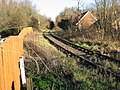 Looking NE along the remains of the East Kent Railway - geograph.org.uk - 633969.jpg