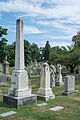 Looking NW across section G - Glenwood Cemetery - 2014-09-14.jpg