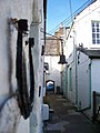 Looking out of Canons Close onto Kirkcudbright High Street - geograph.org.uk - 1422633.jpg