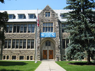 Loretto Abbey Catholic Secondary School All girls roman catholic high school in Hoggs Hollow, North York, Ontario, Canada
