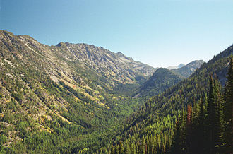 Eagle Cap Wilderness - Lostine River valley in Eagle Cap Wilderness