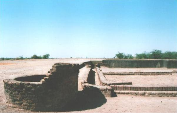 Lothal well and drainage
