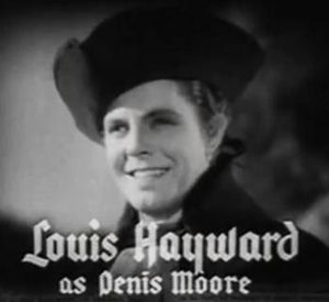 Louis Hayward - Louis Hayward in Anthony Adverse