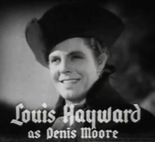 Louis Hayward British actor born in South Africa
