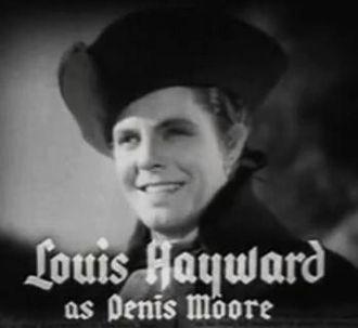 Louis Hayward - Louis Hayward in Anthony Adverse