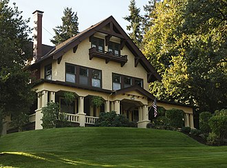 National Register of Historic Places listings in Marion County, Oregon - Image: Louis J. Adams House (Silverton, Oregon) 1
