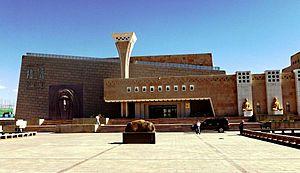Ruoqiang Town - New Loulan Museum in Charklik (Ruoqiang)
