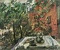 Lovis Corinth, Vespers on the Balcony (1925), oil on canvas, 49 × 60 cm., Berlinische Galerie, Berlin.jpg