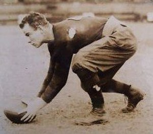 Lud Wray - Wray as a member of the Buffalo All-Americans in 1921.
