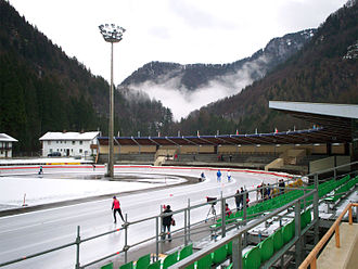 1996 World Allround Speed Skating Championships - Image: Ludwig Schwabl Stadion Inzell