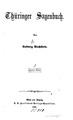 Ludwig Bechstein - Thüringer Sagenbuch - Zweiter Band.pdf