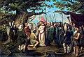 Ludwik Patek - Scena historyczna z Mieszkiem i Dobrawą 1857.jpg