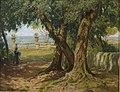 Luise Begas-Parmentier - Unter Olivenbäumen im Park von Taormina.jpg