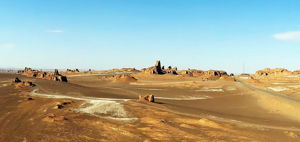 Lut Desert Yardangs by Hadi Karimi