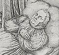 Luther auf dem Totenbett Jobst Ammann 1585 Ausschnitt.jpg