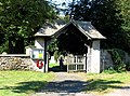Lych gate at the end of Church Lane - geograph.org.uk - 1294736.jpg