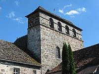 Méallet, église St-Georges, clocher.jpg
