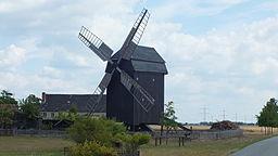 denkmalgeschützte Mühle in Lebien