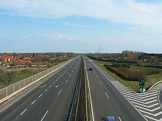 M5 motorway (Hungary) - Image: M5 Kecskemét
