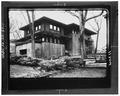 MAIN FACADE AND GARAGE FACADE - Arthur L. Rule House, 11 South Rock Glen, Mason City, Cerro Gordo County, IA HABS IOWA,17-MASCIT,8-1.tif