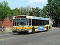 MBTA route 88 bus on Broadway at Clarendon Hill, July 2015.JPG