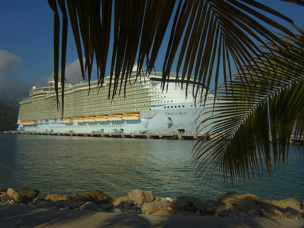 filems oasis of the seas labadee haiti august 2011