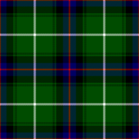 MacDonald of the Isles (MakDonnald of ye Ylis) tartan, as published in the Vestiarium Scoticum in 1842.