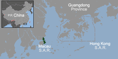 Macau Location