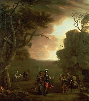 Banquo - Macbeth and Banquo Meeting the Three Witches by John Wootton