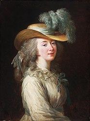 Élisabeth Vigée-Lebrun: Portrait of Madame Du Barry