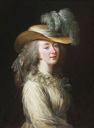 Madame du Barry - Madame du Barry by Élisabeth Vigée Le Brun, 1781