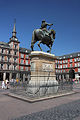 Madrid. Mayor square. Equestrian statue of Felipe III. Spain (2853788762).jpg