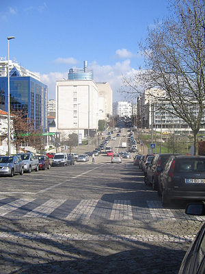 Maia, Portugal - Visconde de Barreiros Avenue, Maia