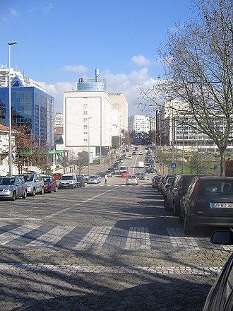 Maia, Portugal - Visconde de Barreiros Avenue, Maia