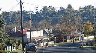 Hepburn Springs, Victoria Town in Victoria, Australia