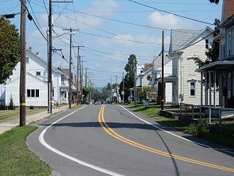 Hegins, Pennsylvania - Image: Main St in Hegins PA 01
