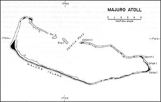 Majuro - Schematic overview of Majuro