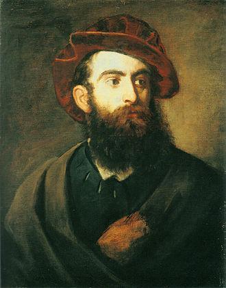 Hans Makart - Hans Makart, Self-portrait, 1878