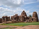 Mallikarjuna and Kashivishwanatha temples at Pattadakal.jpg