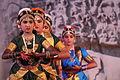 Mamallapuram, Indian Dance Festival, Bharatanatyam dancers (9902423066).jpg