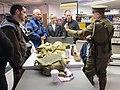 Manchester Central Library 2014 re-opening Manchester Regiment volunteer 7882.JPG
