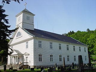 Mandal Church Church in Agder, Norway