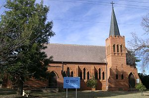 Manilla, New South Wales - Holy Trinity Anglican Church, Manilla, NSW