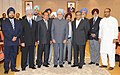 Manmohan Singh with the representatives of Indian community on the sidelines of the XVI Non-Aligned Movement (NAM) Summit, in Tehran, Iran. The Union Minister for External Affairs, Shri S.M. Krishna is also seen.jpg