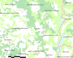Map commune FR insee code 19266.png