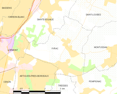 Map commune FR insee code 33554.png