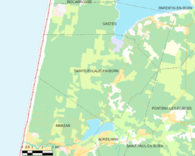 Map commune FR insee code 40257.png