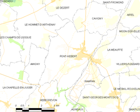 Map commune FR insee code 50409.png