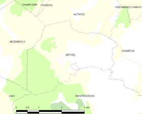 Map commune FR insee code 58013.png